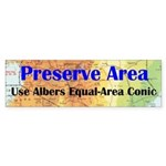 Preserve Area - Bumper Sticker
