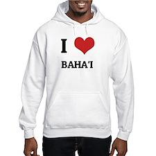 I Love Baha'i Hoodie