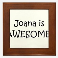 Cool Joana Framed Tile