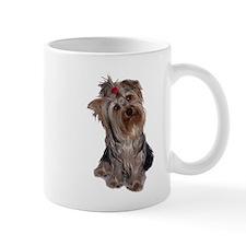yorkie portrait Mug
