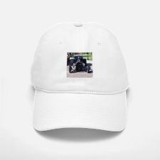 BLACK HOT ROD Baseball Baseball Cap