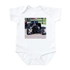 BLACK HOT ROD Infant Bodysuit