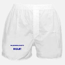 Paleobiologists Rule! Boxer Shorts
