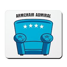 Armchair Admiral Mousepad