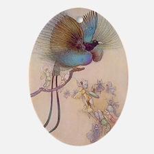 Bird of Paradise Keepsake (Oval)