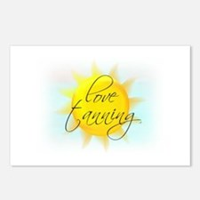 LOVE TANNING Postcards (Package of 8)