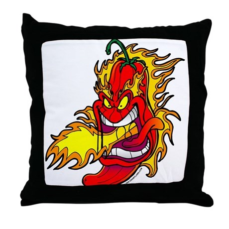Red Hot Chili Peppers Throw Pillow