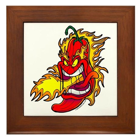 Red Hot Chili Peppers Framed Tile