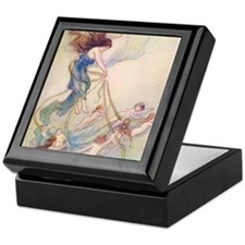 Queen of them All Keepsake Box