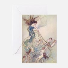 Queen of them All Greeting Cards (Pk of 10)