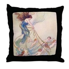 Queen of them All Throw Pillow
