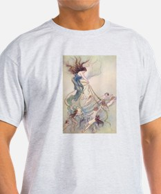 Queen of them All Ash Grey T-Shirt