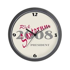 Rick Santorum Wall Clock -1