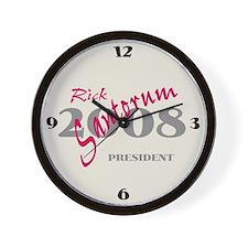 Rick Santorum Wall Clock -1