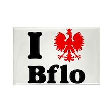 I Polish Eagle Bflo Rectangle Magnet
