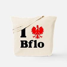 I Polish Eagle Bflo Tote Bag