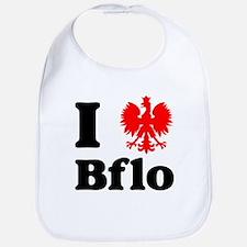 I Polish Eagle Bflo Bib