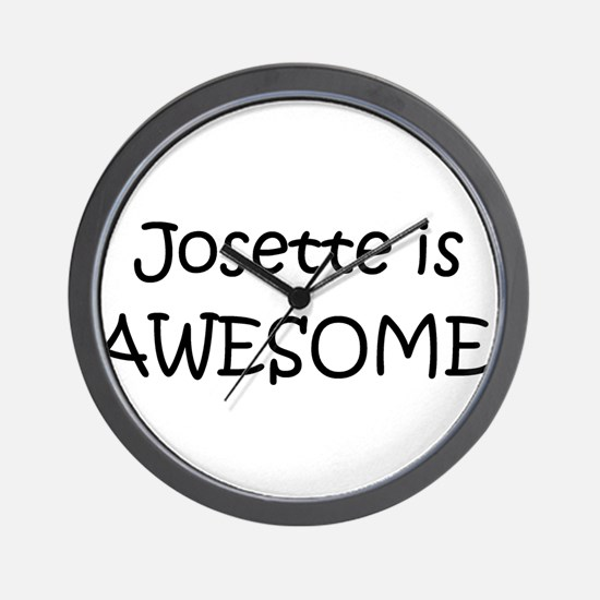 Josette Wall Clock