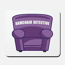 Armchair Detective Mousepad