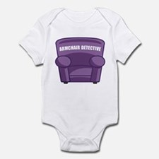 Armchair Detective Infant Bodysuit
