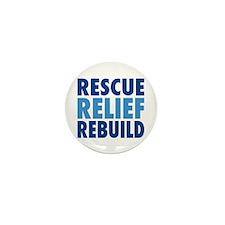 Supporting Hurricane Katrina Mini Button