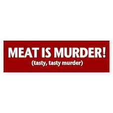 Tasty Murder Bumper Bumper Sticker