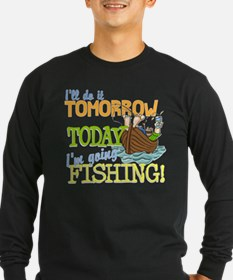 Today I'm Going Fishing T