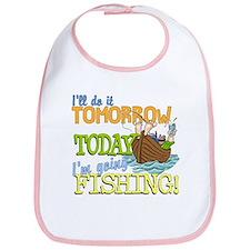 Today I'm Going Fishing Bib