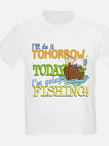 Today I'm Going Fishing T-Shirt