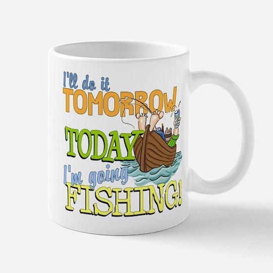 Today I'm Going Fishing Mug