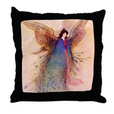 Moon Maiden Throw Pillow