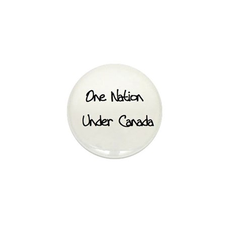 One Nation Under Canada Mini Button (100 pack)