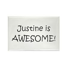 Unique Justine Rectangle Magnet