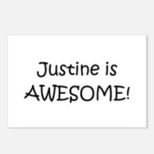 Funny Justine Postcards (Package of 8)