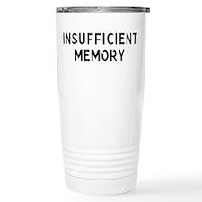 Insufficient Memory Thermos Mug