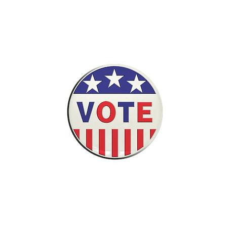 Vote Stars & Stripes Mini Button (100 pack)