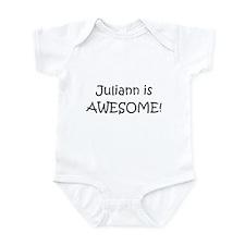Unique I love juliann Infant Bodysuit