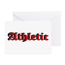 """""""Athletic"""" Greeting Card"""