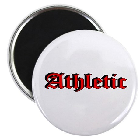 """""""Athletic"""" 2.25"""" Magnet (100 pack)"""