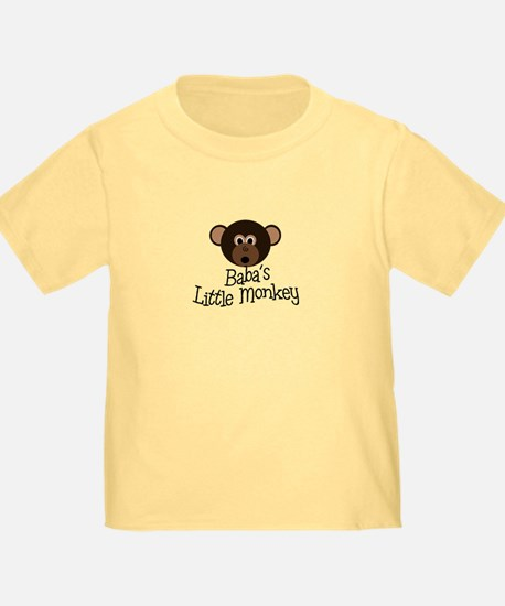 Baba's Little Monkey Boy T