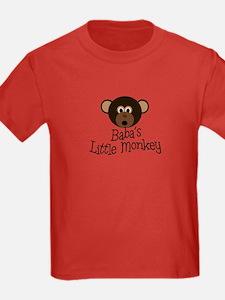 Baba's Little Monkey Boy T