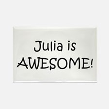 Cute Julia Rectangle Magnet