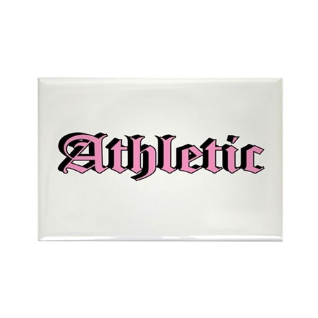"""Athletic"" Rectangle Magnet"