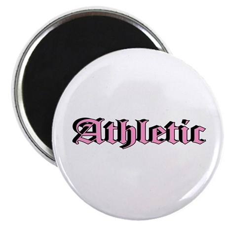 """""""Athletic"""" Magnet"""