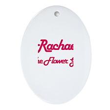 Rachael - Flower Girl Oval Ornament