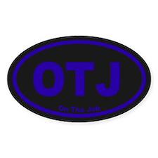OTJ Oval Sticker (50 pk)