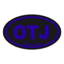 OTJ Oval Sticker (10 pk)