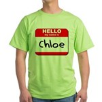 Hello my name is Chloe Green T-Shirt