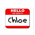 Hello my name is Chloe Postcards (Package of 8)