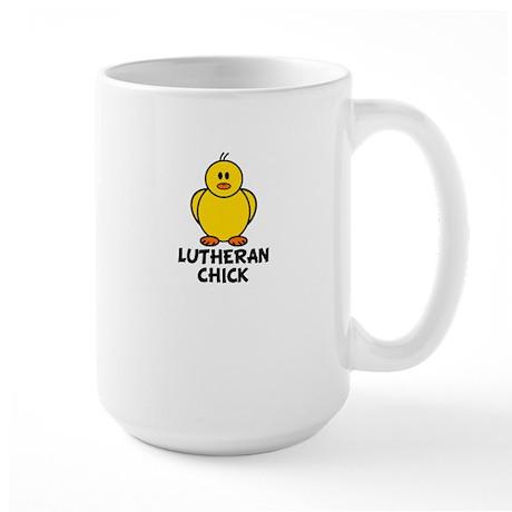 Lutheran Chick Large Mug